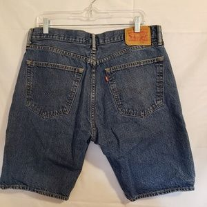 Levi's blue jean shorts 36 waist